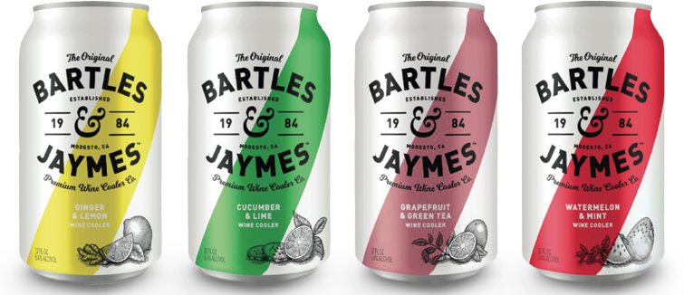 Bartles & Jaymes Cans